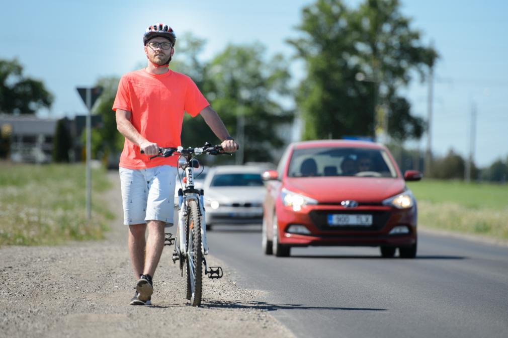 Eeskujulik jalgrattur